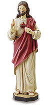 Sacred Heart  Statue 8-24 Inch Sizes