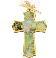 Baptism Wall Cross With Pictures