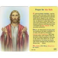 St. Christopher Motorist Prayer Laminated Prayer Card