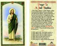St. Jude Laminated Card