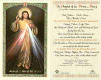 Jesus I Trust In You Laminated Prayer Card