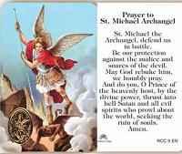 St. Michael Archangel Prayer Card