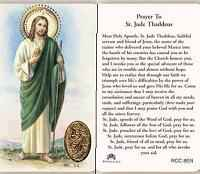 St. Jude Holy Prayer Card