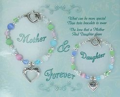 Catholic Mother Daughter Bracelets Multi Colored