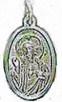 Catholic Scapular Medal. Mother Mary