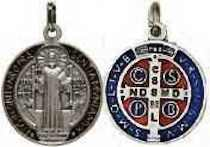 St. Benedict Medal Pendant Necklace