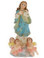 Immaculate Conception Statue with Babies