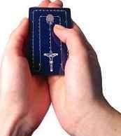 Misterios del Rosario (Rosary Card)