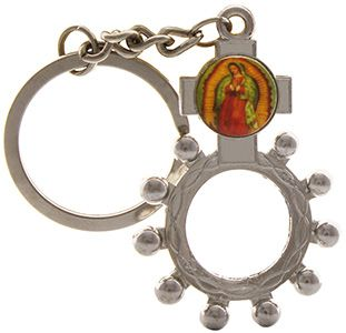 Rosary Ring Key Chain