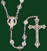 Clear Amethyst Rosary
