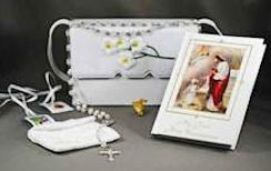 Girls First Holy Communion Purse Set