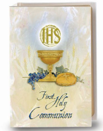 Blessed Trinity Missal - White Cover, Communion