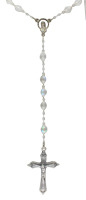 Large Swarovski Crystal Rosary Beads