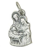 Holy Family Bracelet Medal Charm