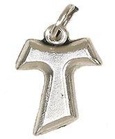 Tau Cross Bracelet Charm