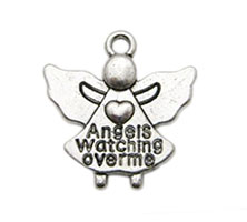 Angels Watching Over Me Charms (Pkg of 12)