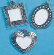 Photo Charms Inexpensive Silver