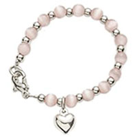 Baby's First Bracelet with Heart