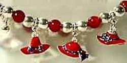 Red Hat Fashion Bracelet