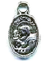 Jesus Christ Praying Charm Silver (Pkg of 12)