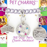Pet Charms Collar or Bracelet(Set of 3)