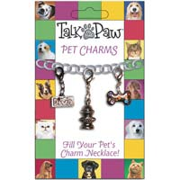 Pet Dog Collar Charms 3 in Set