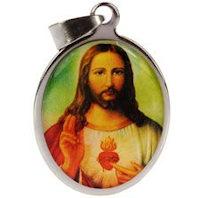Sacred Heart of Jesus Medal  Pendant