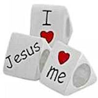 Sterling Silver- I Love Jesus Bead Charm