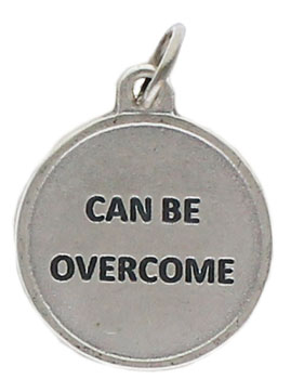 Cancer Charm Silver Pewter