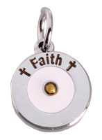 Silver Faith Mustard Seed Charm