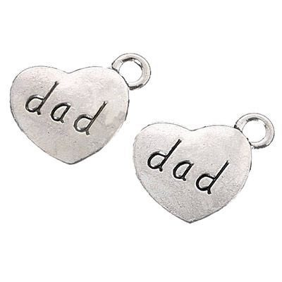 Relationship Charms for Urn Necklace - dad