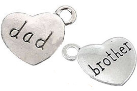 Relationship Charms for Urn Necklace