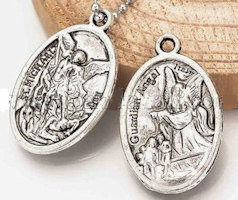 St. Michael's Charm Pray / Guardian Angel