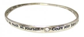 Count Your Blessings Twisted Bracelet
