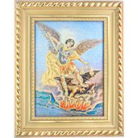 St. Michael Framed Tapestry
