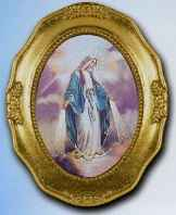 Our Lady of Grace Framed Picture