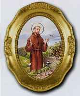 Saint Francis Framed Picture
