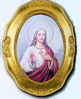 Sacred Heart of Jesus Framed Picture