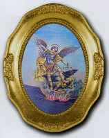 St. Michael Framed Picture