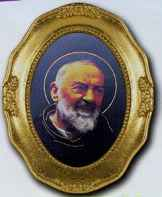 Saint Padre Pio Framed Picture