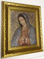 Our Lady of Guadalupe Gold Museum Framed