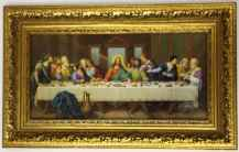 Last Supper Print Museum Framed