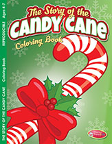 Candy Cane Coloring Book