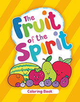 Fruit of The Spirit Youth Coloring Book