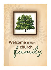 Membership Certificate: Welcome to our Church Family (Pkg of 6)