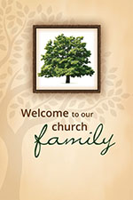 Welcome Folder: Welcome To Our Church Family (Pkg of 12)