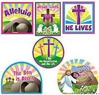 Christian Easter He Lives Cut-outs