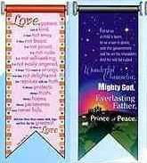 Love is Patient Scripture Banner