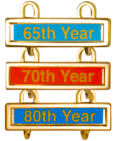 Cross & Crown Year Bars Years 17-89