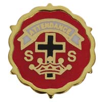 Cross & Crowns Lutheran Month Pins